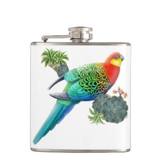 Western Rosella Australian Parrot Flask