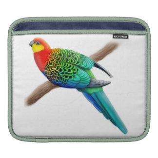 Western Rosella Parrot Rickshaw Sleeve iPad Sleeve