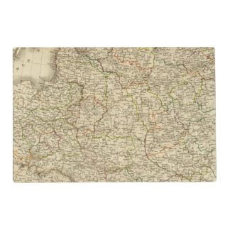 Western Russia, Poland Laminated Place Mat