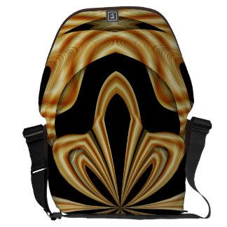 Western Saddle Bone Messenger Bag