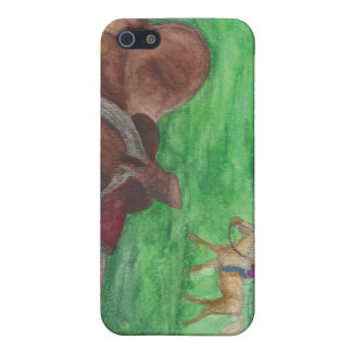 Western Saddle Matte i-phone5 case Case For iPhone 5/5S
