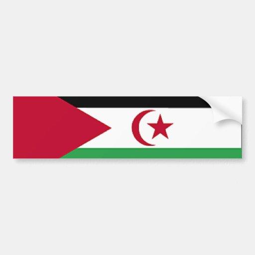 Western Sahara Bumper Sticker