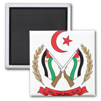 Western Sahara Coat of Arms detail Fridge Magnets