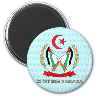 Western Sahara Coat of Arms Refrigerator Magnets