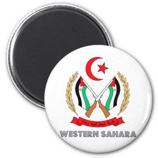 Western Sahara Coat of Arms Magnets