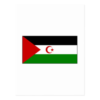 Western Sahara FLAG International Postcard