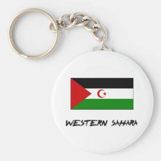 Western Sahara Flag Keychain