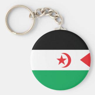 Western Sahara Flag Key Chain