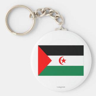Western Sahara Flag Key Chains