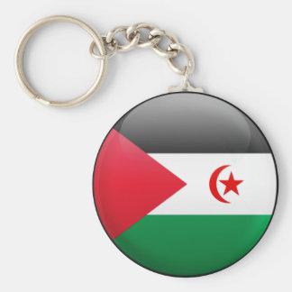 Western Sahara Flag Keychains