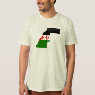 Western Sahara flag map T-Shirt