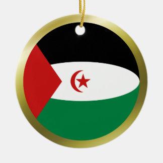 Western Sahara Flag Ornament