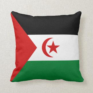Western Sahara Flag x Flag Pillow