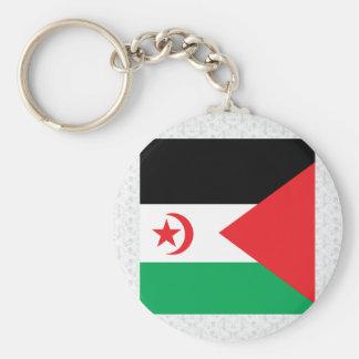 Western Sahara High quality Flag Key Chains
