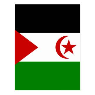 western sahara postcard