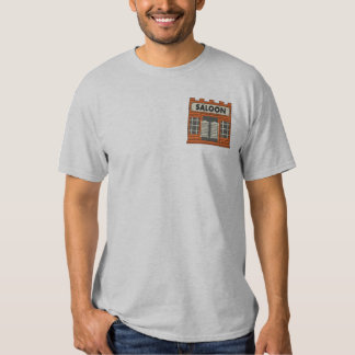 Western Saloon Embroidered Shirt