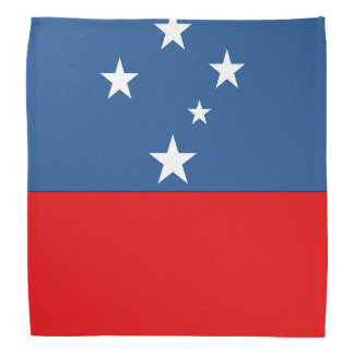 Western Samoa Flag Bandana
