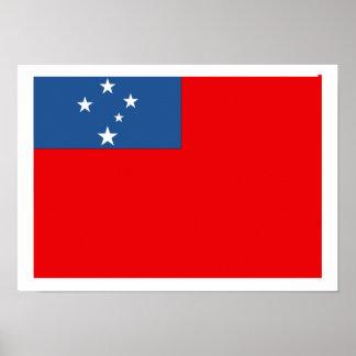 Western Samoa Poster