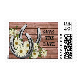 Western Save the Date Postage