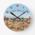 Western Scenic Photo Clock