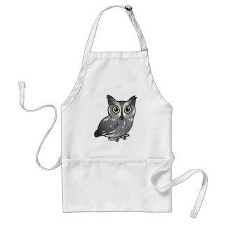 Western Screech Owl Adult Apron