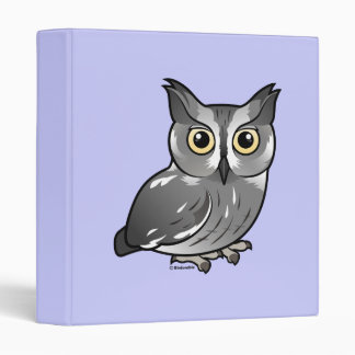 Western Screech Owl Binder