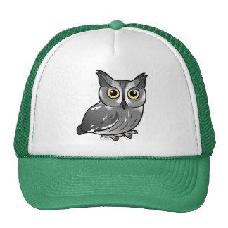 Western Screech Owl Mesh Hat