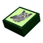 Western Screech Owl Jewelry Box