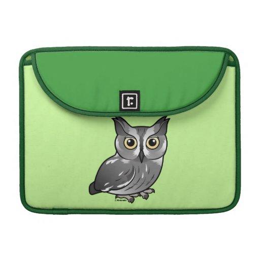 Western Screech Owl Sleeve For MacBooks