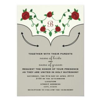 Western Shirt Wedding Invite
