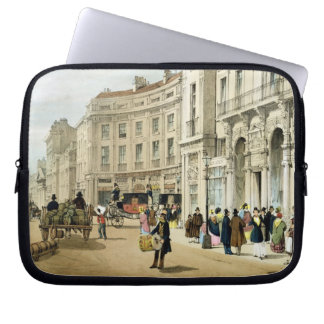 Western side of John Nash's extended Regent Circus Laptop Sleeve