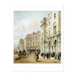 Western side of John Nash's extended Regent Circus Postcard