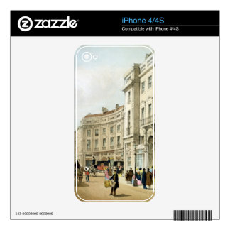 Western side of John Nash's extended Regent Circus Skins For The iPhone 4