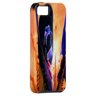 Western Skeleton Gunslinger iPhone 5 Case