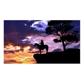 Western Sky Double-Sided Standard Business Cards (Pack Of 100)