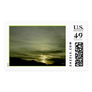 Western Sky Postage Stamps