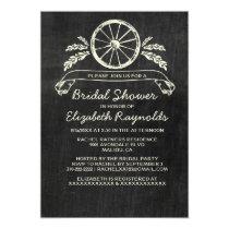 Western Slate Bridal Shower Invitations Invites