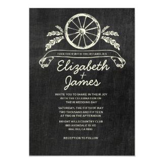 Western Slate Wedding Invitations