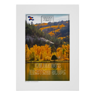 Western Slope Colors Print
