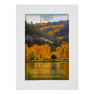 Western Slope Colors Poster
