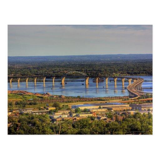 Western St. Louis Bay Postcard