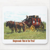 Western Stagecoach Mouse Pad