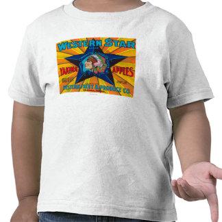Western Star Apple Label - Yakima, WA Tee Shirt