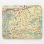 Western States road map Mouse Pad