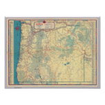 Western States road map Print