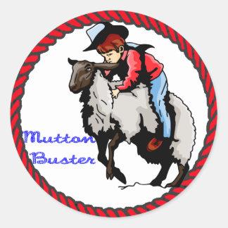 Western Sticker Mutton Buster