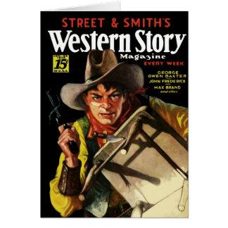 Western Story Magazine #23 Card