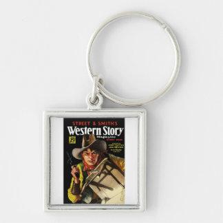Western Story Magazine #23 Key Chain