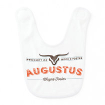 Western style bib for Augustus