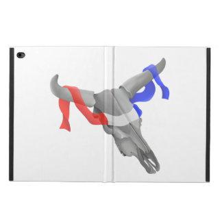 Western Style Cow Skull Patriotic Ribbon Powis iPad Air 2 Case